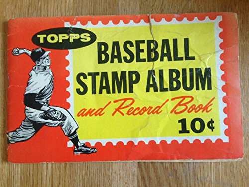 1962 TOPPS CHEWING GUM INC. TOPPS BASEBALL STAMP ALBUM & RECORD BOOK