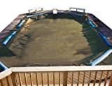 PoolTux BT1836R Emperor Winter Cover for 18-Feet by 36-Feet Inground Pool