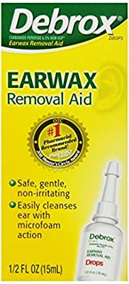 Debrox Earwax Removal Drops, 0.5 Fluid Ounce by Debrox