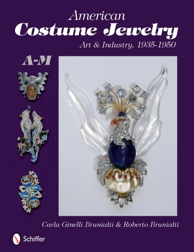 American Costume Jewelry: Art & Industry, 1935-1950, A-M