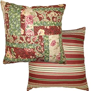 Jcpenney Decorative Throw Pillows : Amazon.com - JCPenney Home Collection Lenny Square Pillow - Throw Pillows