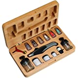 Aztek A470 Deluxe Resin Airbrush Set with Wood Case