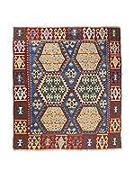 RugSense Alfombra Kilim Anatolia (Azul/Multicolor)