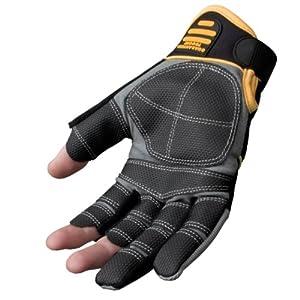DeWalt Finger Framer Power Tool Glove - Grey/Black, Large