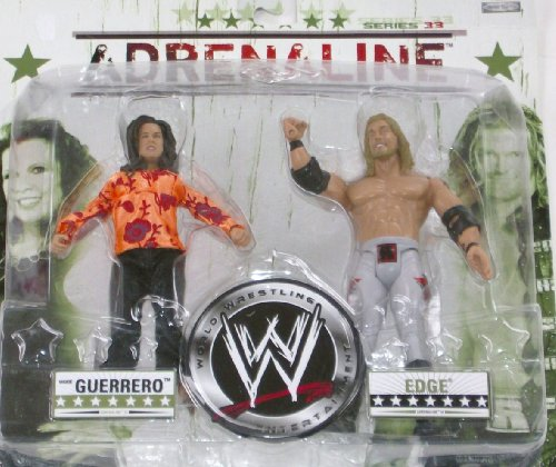Buy Low Price Jakks Pacific Adrenaline Series 33 World Wresting Action Figures Vickie Guerroro & Edge (B002PXPIHK)