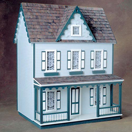 Real Good Toys Front-Opening Vermont Farmhouse Jr Dollhouse Kit - 1 Inch Scale (Real Good Toys Furniture compare prices)