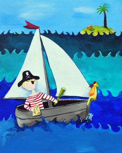 Cici Art Factory Wall Art, Pirate, Small