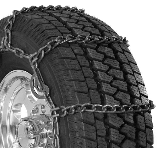 Security Chain Company QG3210CAM Quik Grip Wide Base Type CAM-DH Light Truck Tire Traction Chain – Set of 2