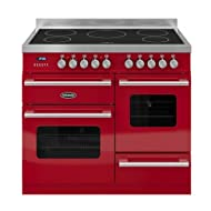 Britannia RC-10XGI-DE-RED Delphi 100cm GX Induction Range Cooker Gloss Red