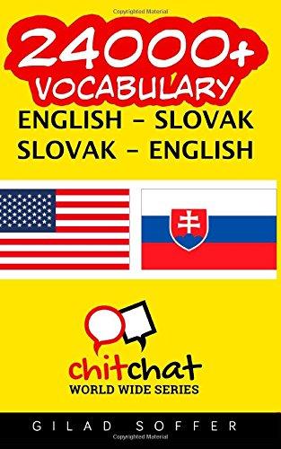 24000+ English - Slovak Slovak - English Vocabulary