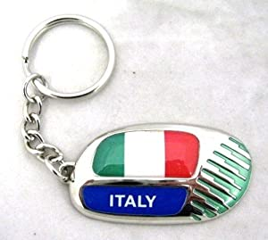 Official Italy Rugby World Cup 2011 Keyring rrp £10 by Brandco