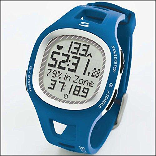 Sigma Puls-Uhr PC10.11 EKG-genau blau Pulsmessgerät Laufuhr Fahrrad pulsation clock