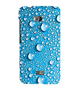 EPICCASE Water Drop Mobile Back Case Cover For Micromax Q336 (Designer Case)