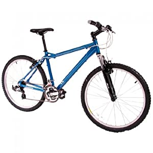 Mens Muddyfox Bullet 26 inch Mountain Bike in Blue and Silver. MANUFACTURERS WARRANTY.