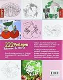 Image de 222 Vorlagen Blumen und Natur: Vielfältig nutzbar für Fensterbilder aus Papier, Windowcolor, Laubs