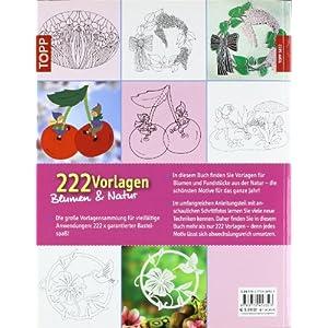 222 Vorlagen Blumen und Natur: Vielfältig nutzbar für Fensterbilder aus Papier, Windowcolor, Laubs