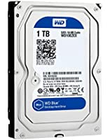 WD Blue Disque dur interne (Bulk) Desktop Mainstream 1 To 3,5 pouces SATA 7200 RPM