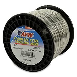 American fishing wire stainless steel for Fishing line test