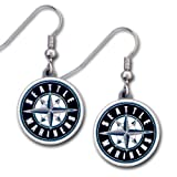 MLB Dangle Earrings - Seattle Mariners MLB Dangle Earrings - Seattle Mariners Amazon.com