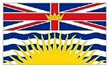 British Columbia (Canada) Flag 5'x3'