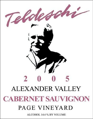 2005 Teldeschi Cabernet Sauvignon, Page Vineyard, Alexander Valley 750 Ml