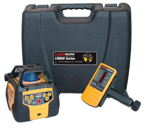 CST/berger 57-LM800D Automatic Dual-Beam Self Leveling Hz & Vert. Rotary Laser Level with Detector - NEW