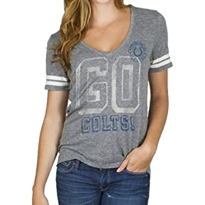 Indianapolis Colts - Tailgate Juniors Jersey T-Shirt by Junk Food Clothing Co.