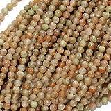Autumn Jasper 2-2.5mm Round Beads 16 Inch/Green Orange