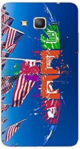 Timpax protective Armor Hard Bumper Back Case Cover. Multicolor printed on 3 Dimensional case with latest & finest graphic design art. Compatible with Samsung Galaxy Grand 2 - 7106/7105 Design No : TDZ-26887