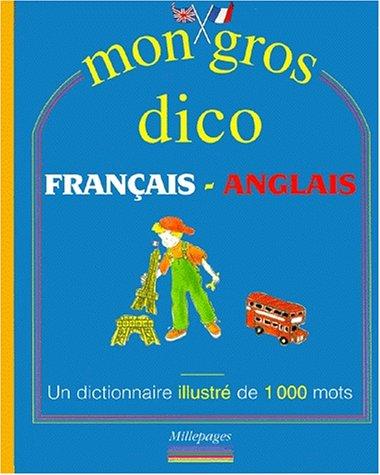 Mon gros dico français-anglais