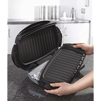 George foreman next grilleration health grill with removable plates 12617 - Health grill with removable plates ...