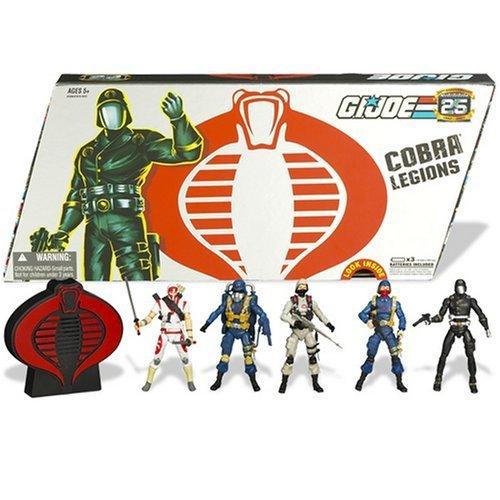 G.I. Joe Cobra Legions mit 5 Actionfiguren & Sound 25th Anniversary Collector Set von Hasbro günstig bestellen