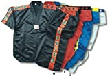 MAR Boxing Competition Suit (100% Polyester) A: Black, B: Red, C: Blue, D: White 00/120D: White