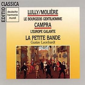 Le Bourgeois Gentilhomme - Com�die-Ballet, LWV 43: 1�re chanson � boire