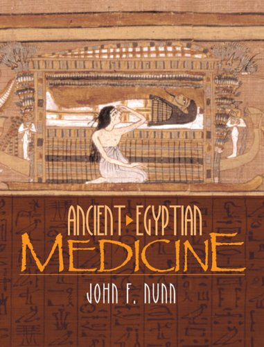 Ancient Egyptian medicine book cover