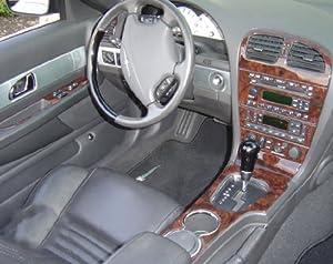 ford thunderbird t bird interior wood dash trim kit set 2002 2003 2004 2005 automotive. Black Bedroom Furniture Sets. Home Design Ideas