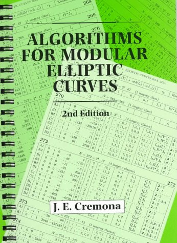 Algorithms for Modular Elliptic Curves