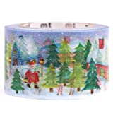 Blue Christmas mt Washi deco tape Christmas scenery