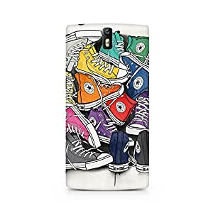 Mobicture Cartoon Premium Printed Case For OnePlus One