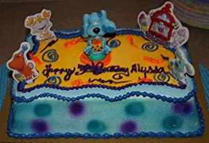 Qvc Cake Decorating Kit : Blue s Clues Crayons