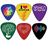 Creanoso Awesome Famous Arts Special Guitar Picks ((2) Awesome Arts Theme)