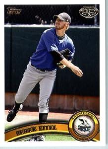 2011 Topps Pro Debut Baseball Card # 288 Derek Eitel Missoula Osprey MiLB (Prospect... by Topps