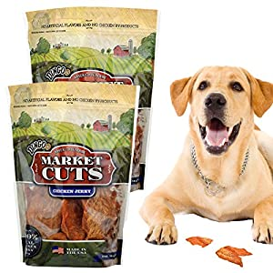 2 Dingo 32oz Bags Of Market Cuts 100% Chicken Jerky Natural Dog Treats Made in USA Only