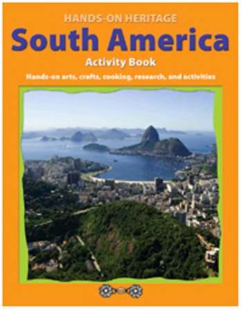 Hands-On Heritagetm Activity Book, South America back-466834
