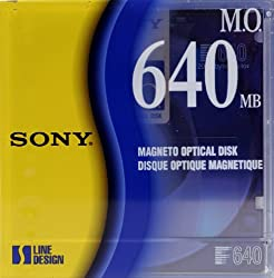 Sony 3.5 Rewritable Magneto Optical 640MB 2048 Bytes/Sector (1-Pack)