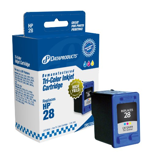 Dataproducts Dpc728A Remanufactured Ink Cartridge Replacement For Hp #28 (C8728An) (Tri-Color)