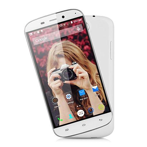 DOOGEE NOVA Y100X Smartphone Libre (Pantalla 5.0″, Android 5.0, Quad-Core, Cámara 8 Mp, 8 GB ROM) (Blanco)