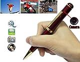 Gadget Advice Latest Red 4 GB Internal USB Flash Drive Spy Pen DVR Video Recorder Hidden Pinhole Camera Camcorder USB Disk Red