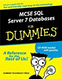 img - for McSe SQL Server 7 Database Design for Dummies (For Dummies (Computer/Tech)) book / textbook / text book