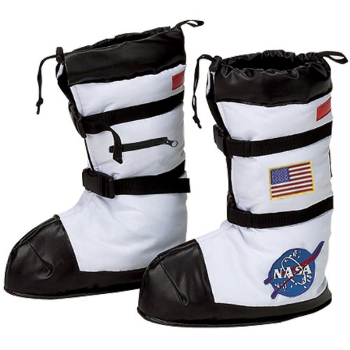 Jr. Astronaut Space Boots Costume Accessory